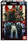 Star Wars - Puzzle Rogue One, 2 x 100 Piezas (Educa Borras 17012)