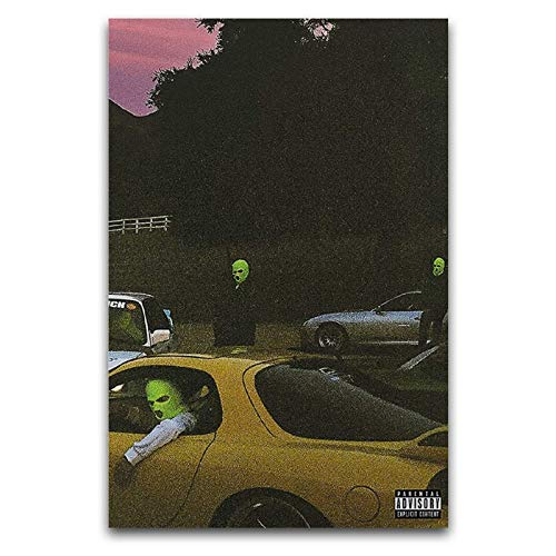 JACKBOYS & Travis Scott – Cubierta de álbum de Jackboys, lienzo para pared, dormitorio, oficina, gimnasios, 40 x 60 cm
