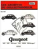 Les archives du collectionneur N°9 Revue Technique Automobile Peugeot 202 - 302 - 402 et Boite Cotal (36/39): 1