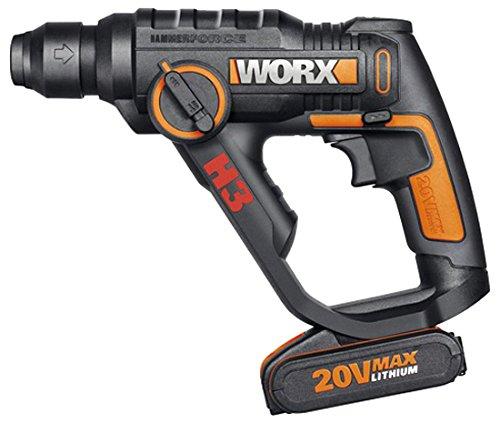 Worx WX390 - H3™Taladro/Atornilllador/Martillo 1 Bat. 20v-2,0Ah Li-Ion