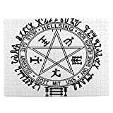 Houtiff Anime & Berserk & Hellsing Symbol Tapestry Japan Anime Intellectual Puzzle 500 Piece Puzzle is Suitable for Adults, Teenagers and Children's Games