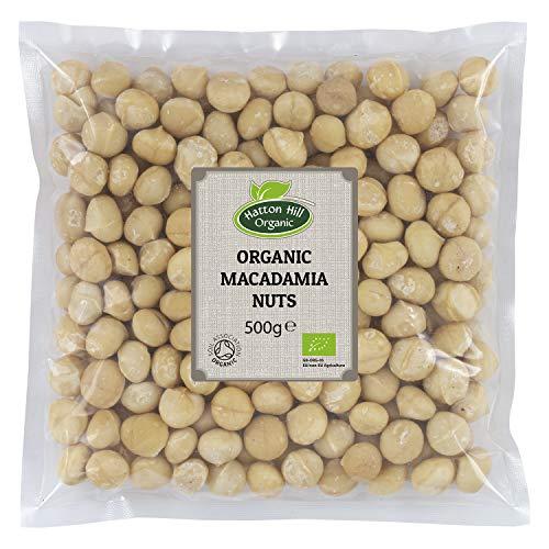 Nueces de Macadamia 500g Orgánicas de Hatton Hill