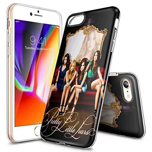 Schutzhülle für iPhone XR, ultradünn, transparent, TPU, stoßfest und Kratzfest, personalisierbare Muster [LZX20190426], iPhone 6 / 6s Plus, Pretty (PLL) Little Liars