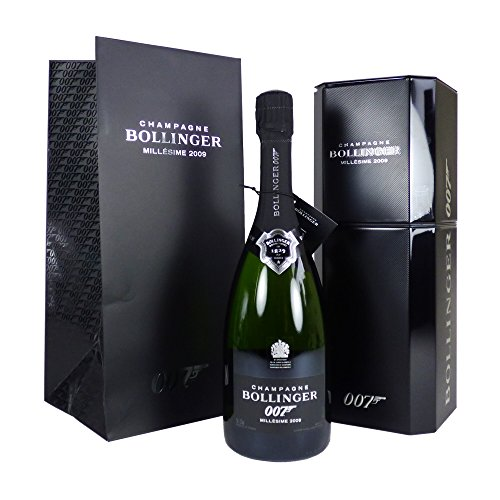 Photo of Bollinger Spectre Limited Edition 007 Champagne 75cl Presented in a Metal Chill Box – Ideas for Birthday, Anniversary, Wedding and Corporate