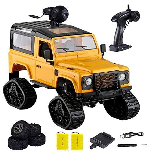 DDT RC Auto 1:16 Auto Telecomando 4WD Fuoristrada con Fotocamera 720P HD FPV Hobby Veicolo Giocattolo,per Bambini 6 Anni+