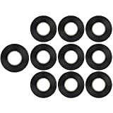 Sunlite E150 Black Electrical Tape, 10 Pack, Ten Pack, 10 Count