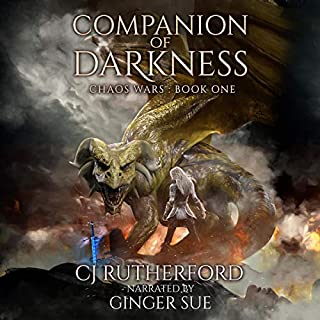 Companion of Darkness audiobook cover art