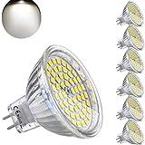 MR16 GU5.3 LED Blanc Naturel 4000K 12V 5W Ampoule Equivalent à 35W Halogène Lampe 420 Lumen...