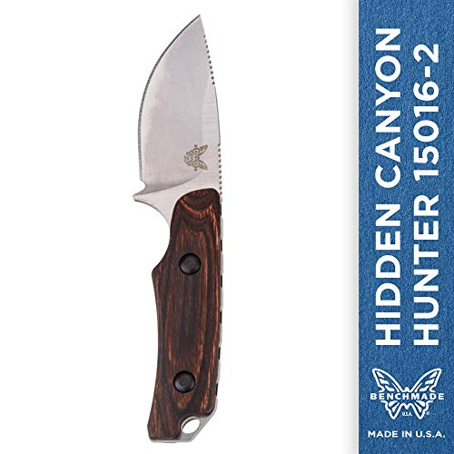 Benchmade - Hidden Canyon Hunter 15016-2 Compact Fixed Hunting Knife Made in USA...