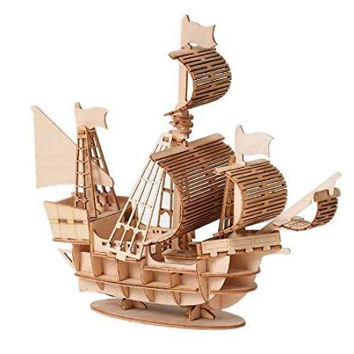 Wohnzimmerdekorationen Chem Segelboot Modell Zusammenbau Bausätze Schiffsmodell Holz Segelboot Spielzeug Segel Modell Zusammenbau Holz Kit DIY