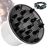 Hair Diffuser, Universal Hair Dryer Diffuser For Curly Hair and Natural Hair,Professional Hair