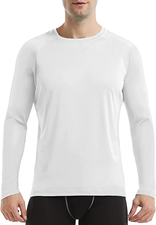 RIMLESS 7 Men's Long Sleeve Shirts UPF 50+ Sun Protection Workout Outdoor Running T-Shirts