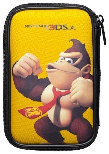 """Nintendo 3DS XL / 3DS / DSi - Tasche """"Mario Bros."""" Donkey Kong gelb"""