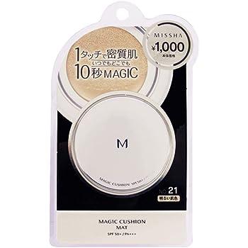 ミシャ M クッション ファンデーション(マット)No.21(明るい肌色) 15g
