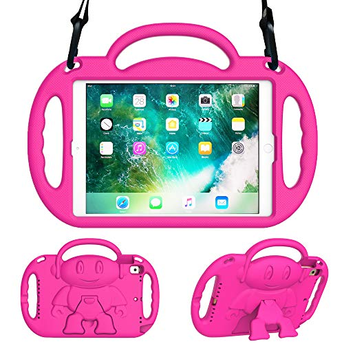 Surom Kids Case for iPad 9.7 2018/2017 - Light Weight Shockproof Handle...