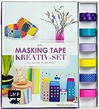 Das Masking-Tape-Kreativ-Set: Buch + 6 Rollen original masté Masking Tape für bunten Klebespaß
