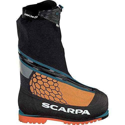 Scarpa Phantom 8000 Schuhe, Black-orange, 45