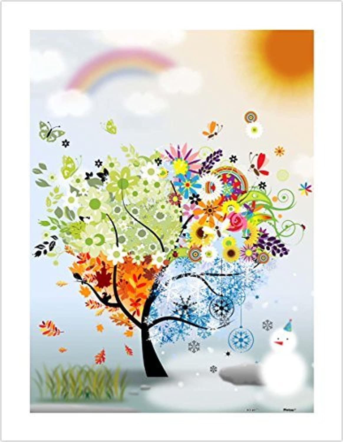 Pintoo  H1531  The Tree of Hope  300 Piece Plastic Puzzle by Pintoo