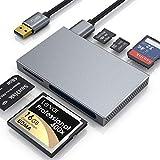CSL - Kartenlesegerät USB 3.0 – 5 in 1 Kartenleser – externer Cardreader Kartenleser -...