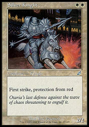 Magic The Gathering - Silver Knight - Scourge by