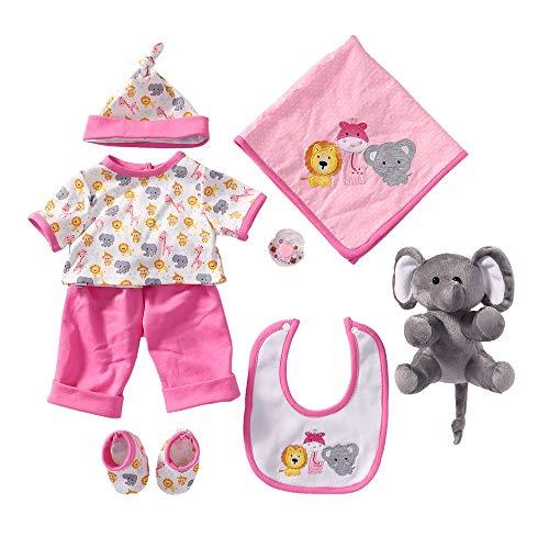 Yesteria Vestiti Bambole per Bambole Reborn da 50-55 cm Elefante Rosa