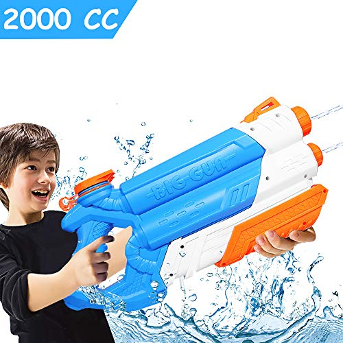 JoinJoy Water Gun Squirt Guns High Capacity 2000CC Water Blaster 10 M Water Pistol for for Swimming Pools Beach Party Water Shooter Fighting Toy