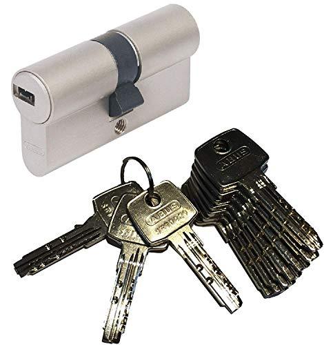 ABUS EC550 Profil-Doppelzylinder Länge (a/b) 30/50mm (c=80mm) mit 10 Schlüssel
