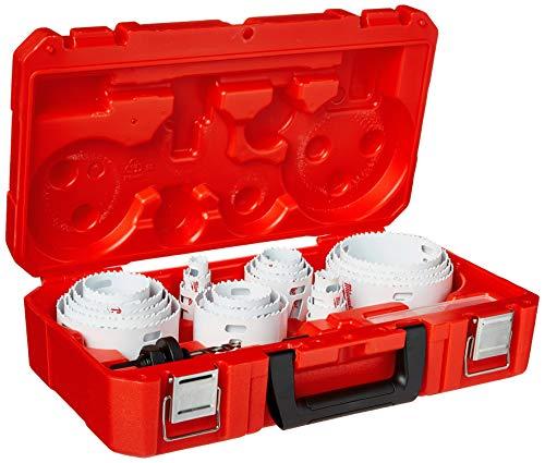 MILWAUKEE'S 49-22-4185 All Purpose Professional Ice Hardened Hole Saw Kit 28 Piece