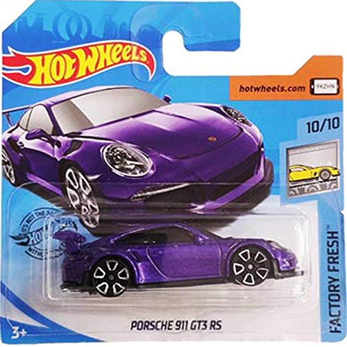 Hot Wheels Porsche 911 GT3 RS Factory Fresh 10/10 2019 (246/250) Short Card