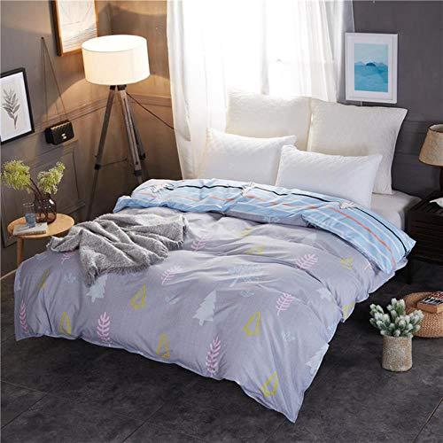 GHJYU 1Pcs Duvet Cover Plaid Stripes Quilt Cover Skin Care Cotton Bedclothes 150x200cm/180x220cm/200x230cm Size,as,150cm*200cm