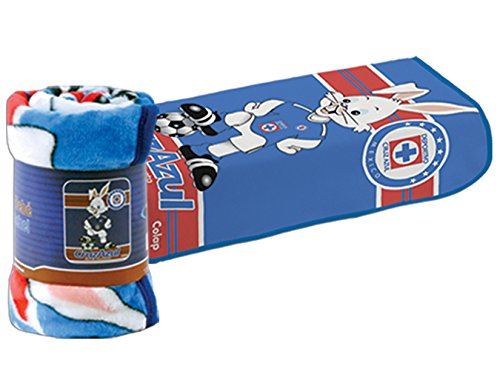 Colap Cruz Azul Fc New Born Baby Size Blanket New in Original Package Made in Mexico
