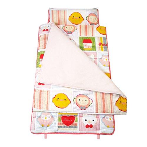 SoHo Kids Extra Roomy Nap Mat, Lucky Monkey