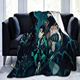 De-Mon SLA-Yer Ultra-Soft Micro Fleece Blanket Home Decor Warm Anti-Pilling Flannel Throw Blanket,Couch/Living Room/Warm Winter Fall/Winter Plush Throw Blankets for Adults Or Kids,80'X60'