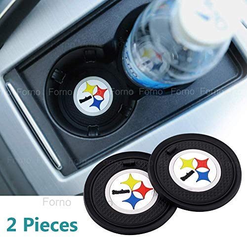 Manyunjiaj 2 Pack 2.75 inch for S-teelers Car Interior Accessories Anti Slip Cup Mat for All Vehicles (Fits S-teelers)