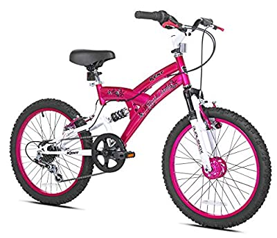 Kent Rock Candy Girls Bike, 20-Inch Wheel from Kent International Inc.