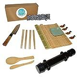 Kit sushi, ideal para principiantes en hacer sushi en casa, incluye 16 accesorios libres de BPA.