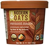Modern Oats Vermont Maple Premium Oatmeal (Pack of 12)