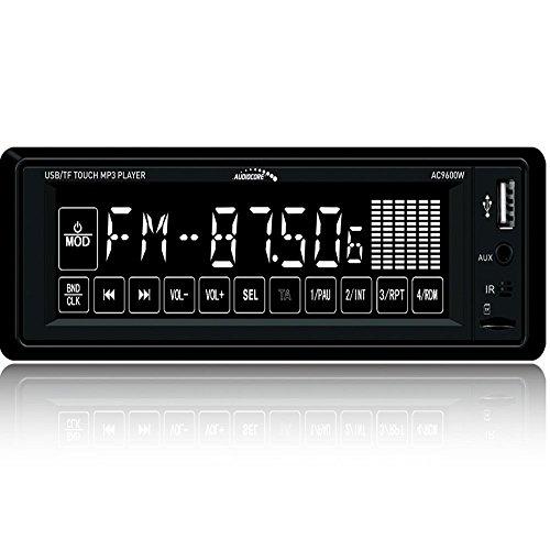 Audiocore AC9600W Autoradio Touchscreen Touch Display Digital Auto KFZ Radio Bluetooth USB MP3 SD MP3 WMA FM 4x25W