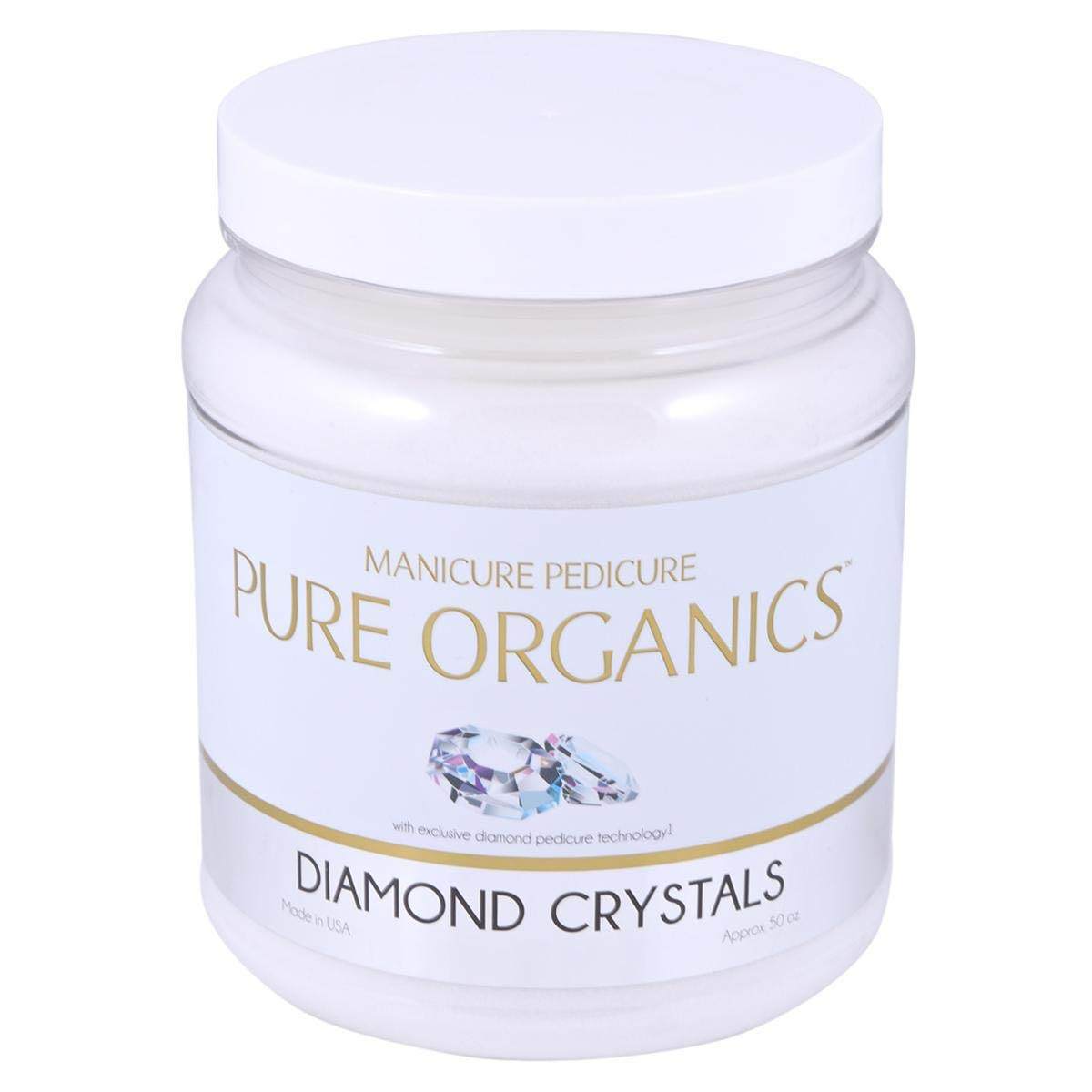 Pure Organics Diamond Pedicure Finally popular brand Rare Spa Crystals