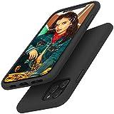 Gorain Hülle für iPhone 11 Pro, Flüssig Silikon Kratzfeste Handyhülle rutschfeste Schutzhülle Schale Stoßfestes Bumper Case Handyschale für iPhone XI/11 Pro 5.8 Zoll - Schwarz