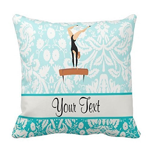 Gymnastics Balance Beam Throw 18*18 pillow Case