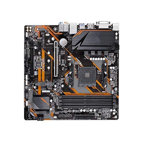 XCJ Placa Base Gaming ATX Placa Base De Juegos Fit For GIGABYTE GA B450M AORUS Elite Fit For AMD B450 / 4-DDR4 DIMM/M.2 /USB3.1 / Micro-ATX/MAX-64G Double Channel AM4 Placa Madre