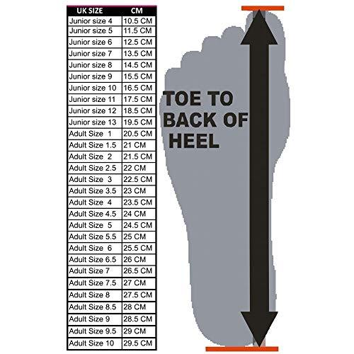 TOROMAX Supper Easy Slip On Jazz Dance Shoes Soft Leather, Neoprene Jazz Dance Shoes (Black, Numeric_10)
