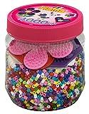 Hama - 2051 - Loisirs Créatifs - Pot 4000 Perles à Repasser + 3 Plaques - Taille...