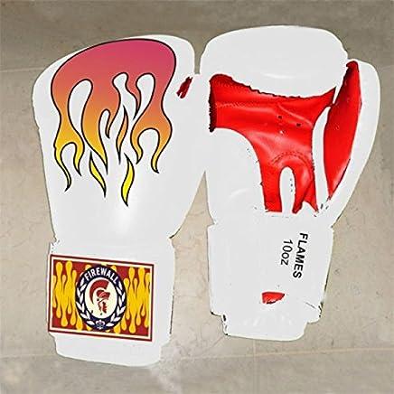 Firewall Trainingshandschuhe Trainingshandschuhe Trainingshandschuhe PU Training Gloves FLAMES boxequipment - Weiß B00NC3PE08   | Deutschland Shops  326672