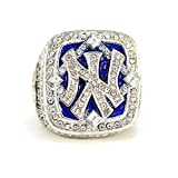 Anillo de campeonato para hombre, colección de regalos y recuerdos, anillo de campeón, con caja