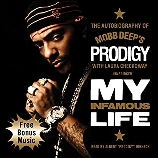 My Infamous Life audiobook cover art