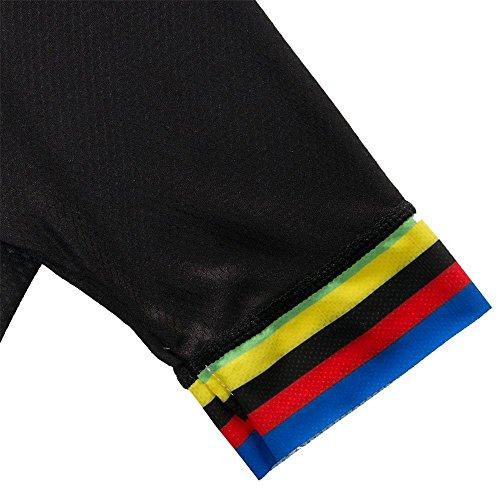 logas Pro Radtrikot Short Sleeve Fahrrad Quick Dry Bib Shorts Breathrei Bike Shirts - 5