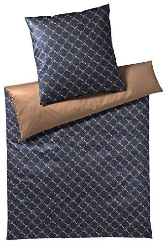 Joop! Bettwäsche Cornflower Double Dark Sapphire Kissenbezug einzeln 40x40 cm