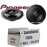 Lautsprecher Boxen Pioneer TS-G1730F - 16cm 3-Wege Koax Paar PKW 300WATT...